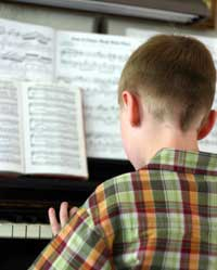 Piano Lessons are given in classical, jazz, bebop, theory and advanced techniques.